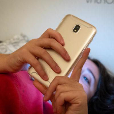 L'addiction au portable