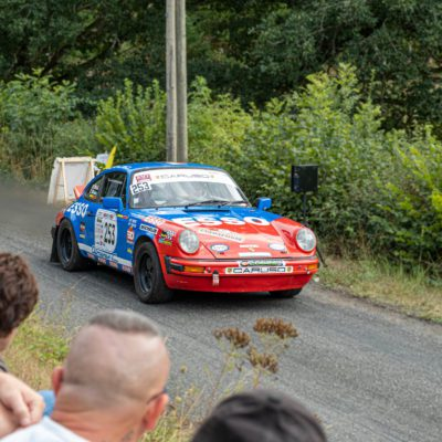 Rallye d'Autun Sud Morvan la Chataigne on 21, 22 and 23 August 2020.